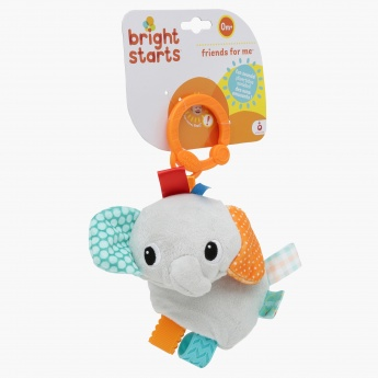 Bright Starts Dangling Musical Elephant Toy