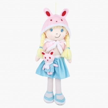 Juniors Rag Doll with Rabbit