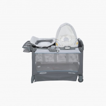 Graco PNP SNG Suite Spin Travel Cot