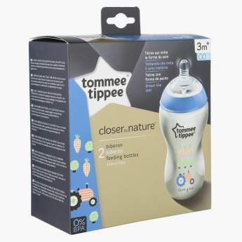 Tommee Tippee Printed Feeding Bottle - 340 ml