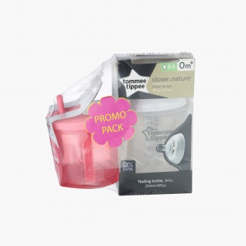 Tommee Tippee Feeding Bottle and First Cup Set