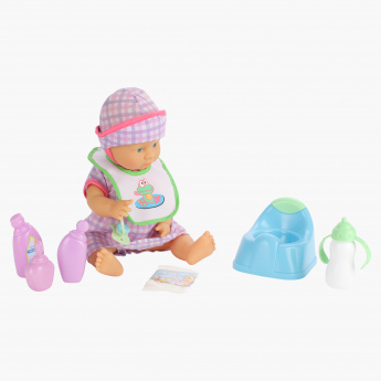 Juniors Potty Play Baby Playset