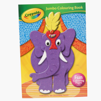 Crayola Jumbo Colouring and Activity Book