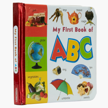 My First Book of ABC Alphabet Board Book