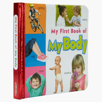My First Book of My Body Board Book