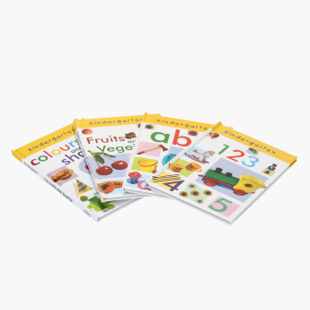 Kindergarten 4-in-1 Book Set