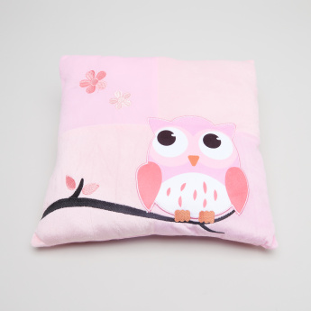 Juniors Printed Cushion with Applique