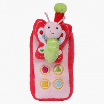 Juniors Phone Butterfly Plush Toy