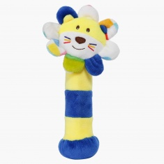 Juniors Plush Lion Rattle Stick