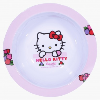 Hello Kitty Printed Round Bowl