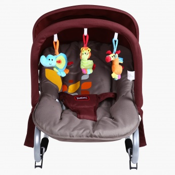 Juniors Coral Rocker with Canopy