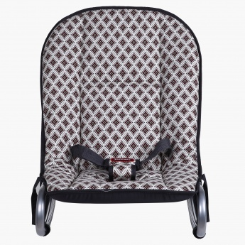 Juniors Diamond Printed Flint Baby Rocker