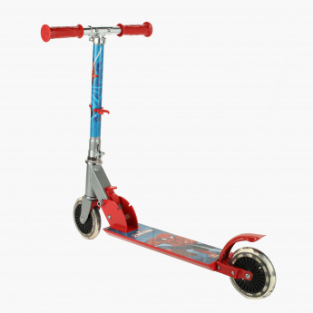 Ultimate Spider-Man Printed Two Wheeler Scooter