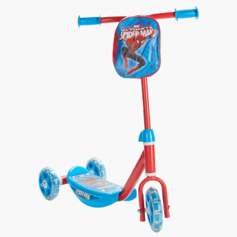 Spider-Man Kids Scooter with Three Wheels