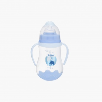 Juniors Printed Wide Neck Feeding Bottle - 250 ml