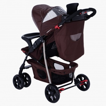 Juniors Metro Baby Stroller with Front Swivel Wheels