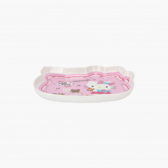 Hello Kitty Printed Plate