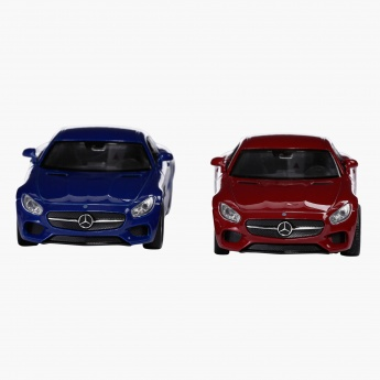 Welly 4.75 Pull Back Mercedes Benz AMG GT 43705 - Set of 2