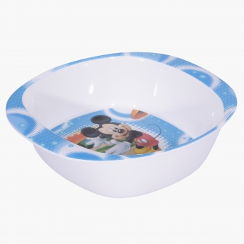 Mickey Mouse Print Bowl