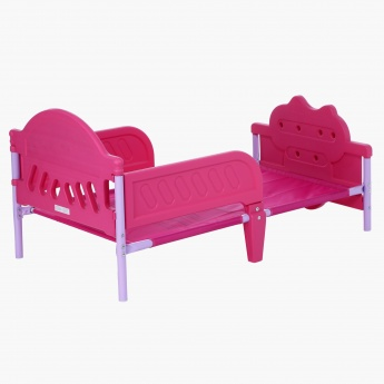 Minnie Mouse 3D Footboard Bed