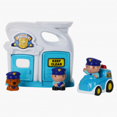 Keenway Mega City Police Station Playset