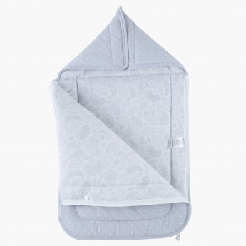 Juniors Polka Dots Hooded Nest Bag