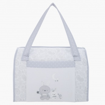 Juniors Paisley Print Diaper Bag