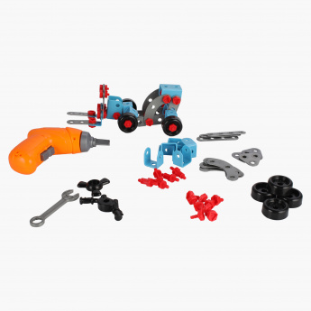 Construction Bricks Set with Tools