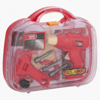Juniors Toy Tool Box Set