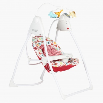 Graco Lovin Hug Baby Swing with Plug