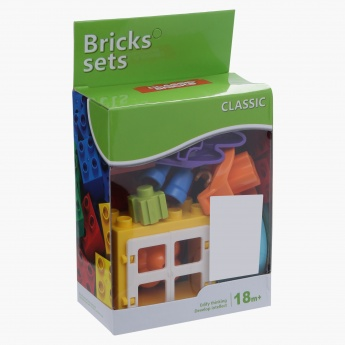 12-Piece Supermarket Brick Set