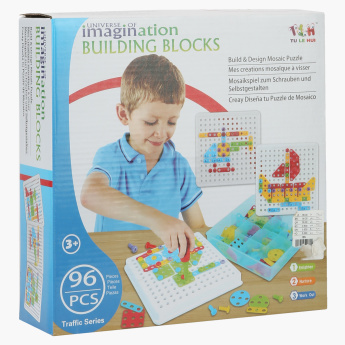 Building Blocks 96-Piece Traffic Series