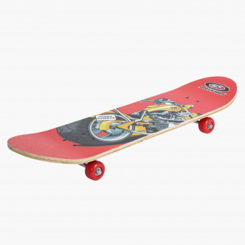 Juniors Printed Skateboard - 31 inches