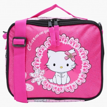 Charmmy Kitty Printed Lunch Bag