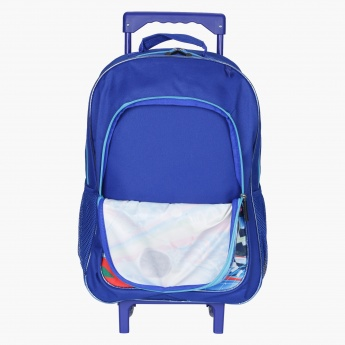 Juniors Printed 3-Piece Trolley Bag Set