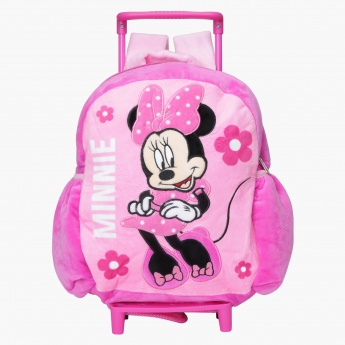 Minnie Mouse Plush Trolley Backpack