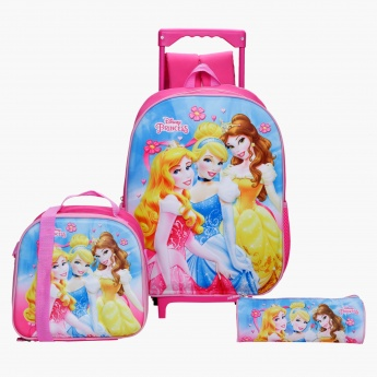 Disney Princess Printed 3-Piece Bag Set