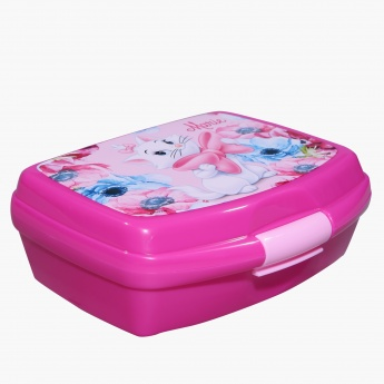 Marie the Cat Print Lunch Box