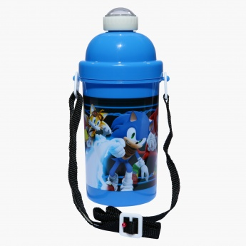 Sonic Printed Water Bottle - 500 ml