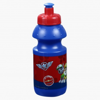 Everest Paw Patrol Printed Lunch Box and Water Bottle Set in Bag