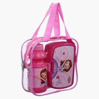 Princess Sofia Printed Lunch Box and Water Bottle Set