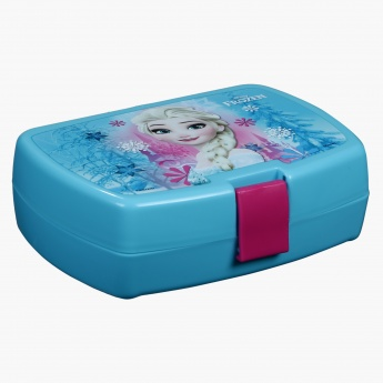 Frozen Print Lunch Box and Sipper Bottle Set
