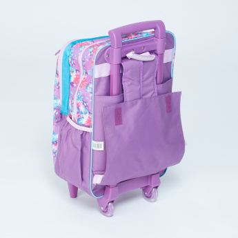 0bd88f57a17 Frozen Printed Trolley Backpack with Zip Closure