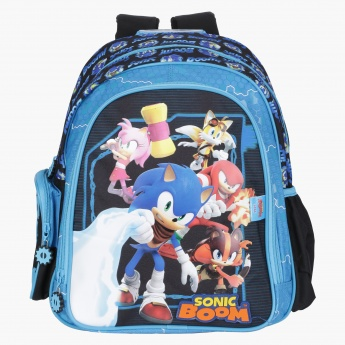 Sonic Printed Backpack