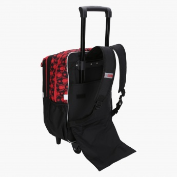 Spider-Man Printed Trolley Backpack