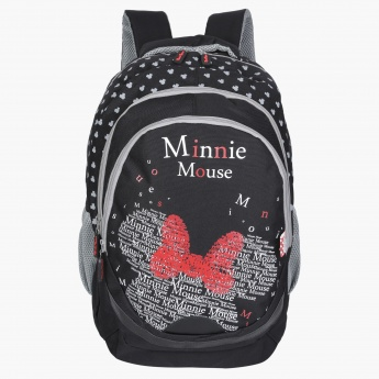 Minnie Mouse Printed Backpack