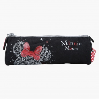 Minnie Mouse Printed Round Pencil Case