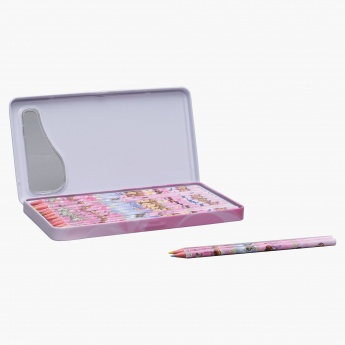Sofia the First Printed 12-Piece Colour Pencil Set
