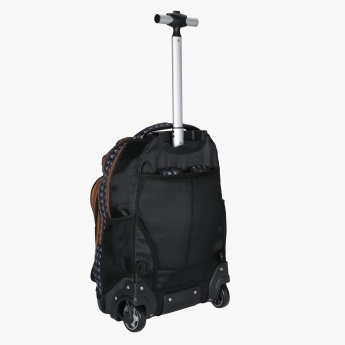 Juniors Printed Trolley Backpack