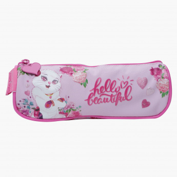 Lulu Caty Printed Pencil Pouch